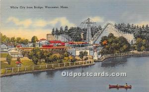 White City from Bridge Worcester, MA, USA Unused