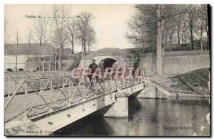 Old Postcard Verdun The Moonlight