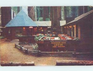 Pre-1980 RICHARDSON GROVE MOTEL Garberville California CA ho5268