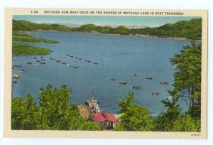 Linen of Watauga Boat Dock, Watauga Lake E Tennessee TN