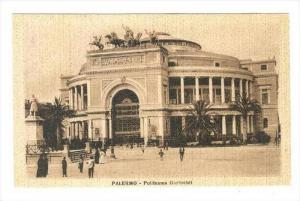 Politeama Garibaldi, Palermo (Sicily), Italy, 1900-1910s