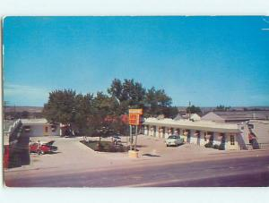 Unused Pre-1980 OLD CARS & YELLOWSTONE AUTO COURT MOTEL Casper WY u7173-33