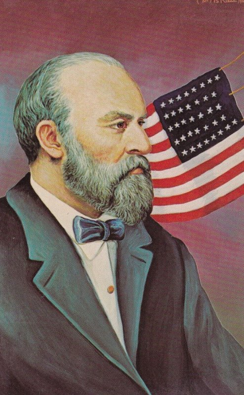 AS; MORRIS KATZ, 1967; James Garfield 20th U.S. President