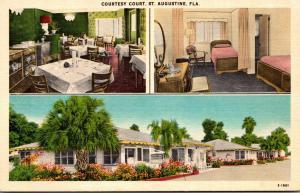 Florida St Augustine Courtesy Court