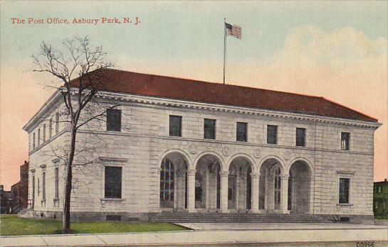 New Jersey Asbury Park The Post Office 1912