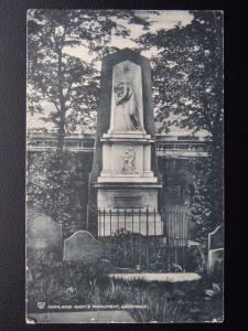 Scotland GREENOCK Highland Mary's Memorial c1911 Postcard by W.R.& S.