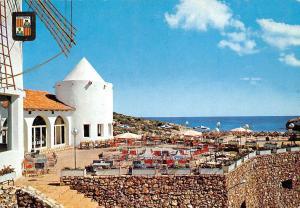 Spain Mallorca Cala Murada, Tropicana Hotel from Cala Domingos Mill