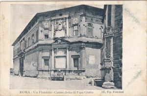 Via Flaminia - Casino Detto Di Papa Giulio, ROMA (Lazio), Italy, 1910-1920s