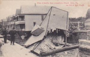 ERIE , Pennsylvania , 00-10s ; Flood damage , 5th & mill Street