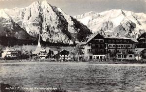 Austria Seefeld i. T. 1200 m mit Wettersteingebirge, Mountains AK