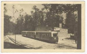 RP: Streamlined Train / Tram, Budapest-Uttorovasut, CSILLEBERC, Hungary, PU-1937