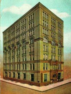 Vtg Postcard 1907 Equitable Building Ninth & Market Sts Wilmington Delaware Und.