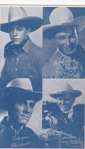 Cowboy Arcade Card Fred Horner Roy Rogers Ken Curis Jimmy Wakely