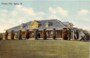QUINCY ILLINOIS COUNTRY CLUB S M KNOX PUBL POSTCARD 1910s