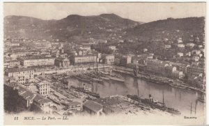 France; Nice, Le Port PPC By Levy, LL11, 1915 Military Post, The Docks