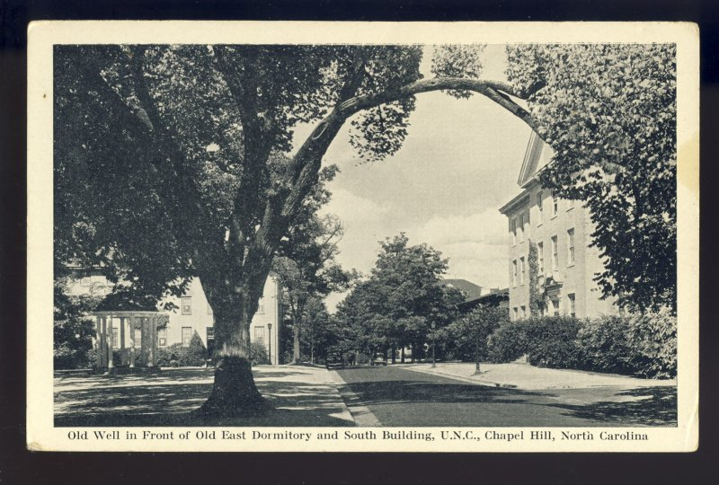 Chapel Hill, North Carolina/NC Postcard, UNC, East Dormitory & South Building