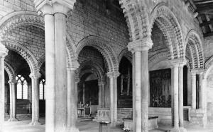 Durham Cathedral Calilee Chapel with Tomb of Venerable Bede, Tuck Real Photo