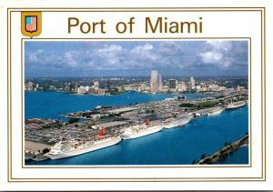 Florida Miami Port Of Miami Cruise Capitol Of The World