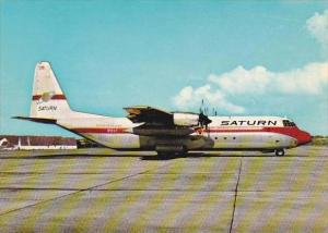 Saturn Airways Lockheed L 100 30 Hercules