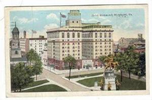 Hotel Richmond, Richmond, Virginia, PU-1923
