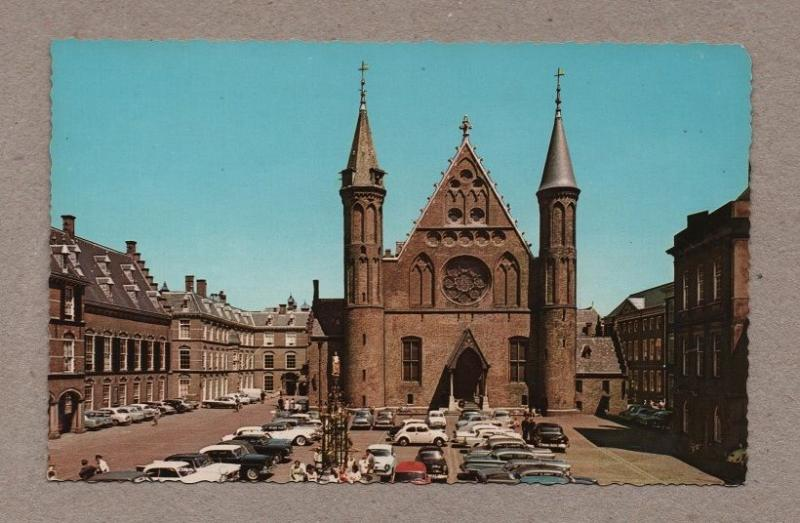 HOLLAND 1960 years cars car postcard GRAVENHAGE THE NETHERLANDS NEDERLAND Z1