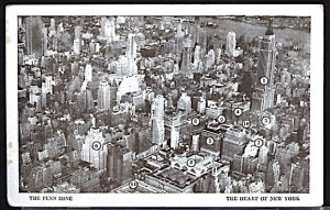 USA The Penn Zone The Heart of New York Light Corner Crease