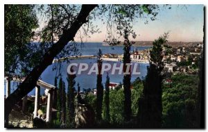 Old Postcard Menton Artistic View