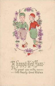Children, To Greet You With A Happy New Year, PU-1912