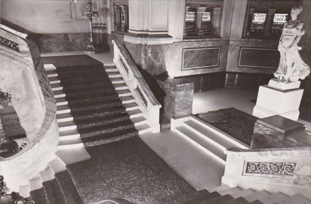 Netherlands Rotterdam Vredspaleis Grand Staircase Photo