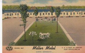 AUSTIN , Minnesota, 1930-40s ; Miller Motel