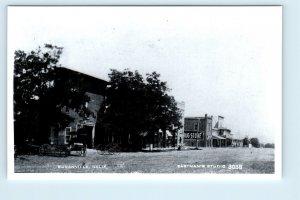 RPPC  SUSANVILLE, California CA ~ Early STREET SCENE 1950s Reprint  Postcard