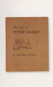 The Tale Of Peter Rabbit 1901 Antique Beatrix Potter Book Postcard