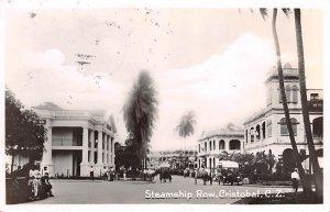 Steamship Row Cristobal Panama Postal Used Unknown, Missing Stamp