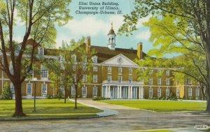CHAMPAIGN-Urbana , Illinois , 1930-40s ; Illini Union Building