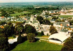 Chateau Sainte Mere Eglise The Airborne Museum Aerial View