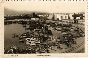 CPA Melilla Darsena pesquera SPAIN (743256)