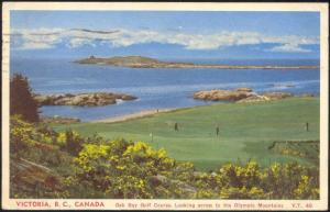 canada, VICTORIA, B.C., Oak Bay Golf Course (1956)