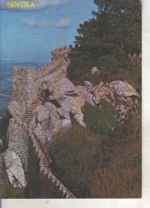 Postal 013828: Castelo dos Mouros en Sintra, Portugal