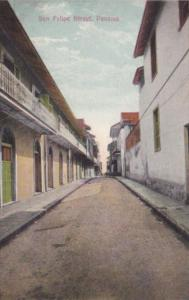 Panama San Felipe Street Panama City