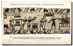 Old Postcard Bayeux Tapestry of Queen Mathilde A Rider of the suite of Willia...