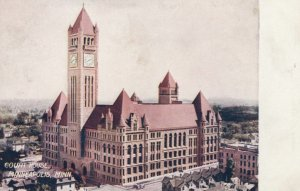 MINNEAPOLIS, Minnesota, 1908; Court House
