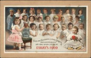Eskay's Baby Food c1910 Postcard