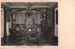 Hotel Quisisana,Wiesbaden,Germany BIN