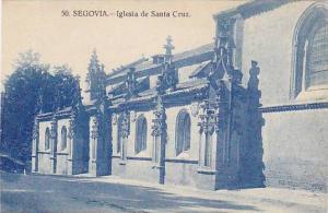 Segovia , Spain , 00-10s : Iglesia de SAnta Cruz
