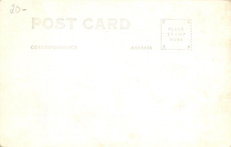 Idaho Springs Colorado~Miner Street~Conroy's Bakery~Mart-Way Dry Goods~1930 RPPC