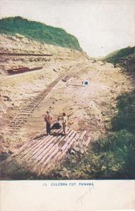 Railroad Tracks, CULEBRA CUT, Panama, 1900-1910s