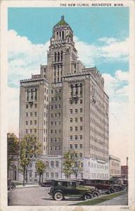 Minnesota Rochester The New Clinic 1929