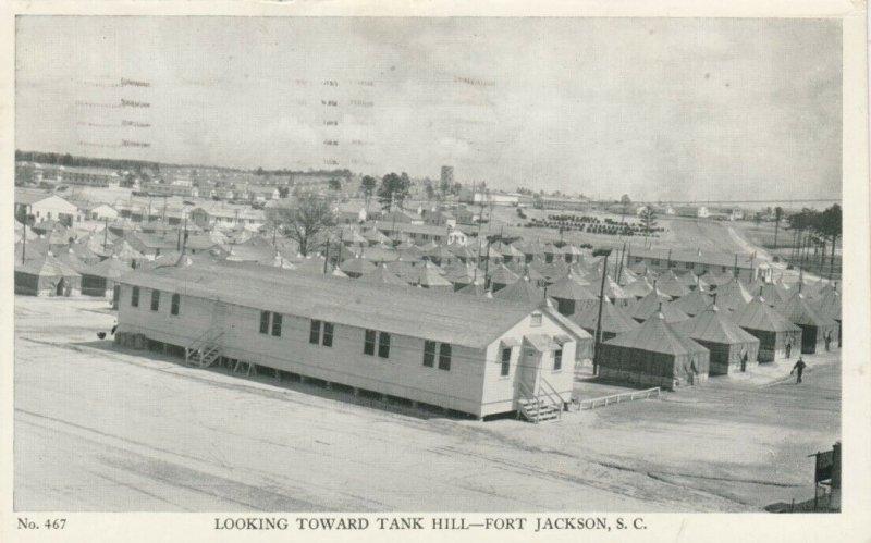 FORT JACKSON , South Carolina, 1941; Looking Toward Tank Hill