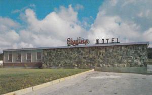 Exterior,  Skyline Motel,  St. John's, Newfoundland,  Canada,  40-60s