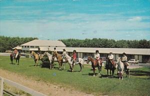 New Hampshire Wolfeboro Allen A Resort Horseback Riders 1979